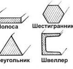 Металлопрокат - СОРТОВОЙ И ФАСОННЫЙ ПРОКАТ