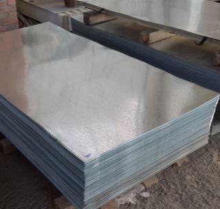Оцинкованный лист  0.65 мм х/к