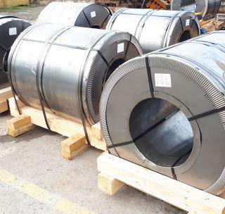 Лента стальная 0,5х27 мм (чёрная)