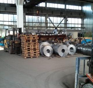 Лента стальная 0,5х28 мм (чёрная)
