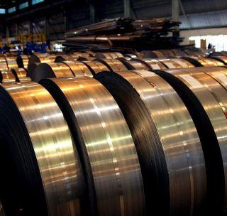 Лента стальная чёрная 0,8х20 мм