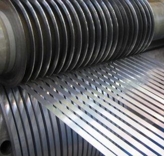 Лента стальная чёрная 1х27 мм