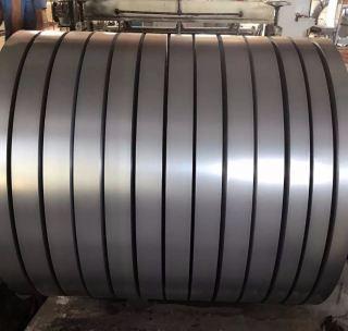 Лента стальная чёрная 0,8х30 мм