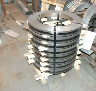 Лента стальная черная 60С2А - 0,4х8 мм