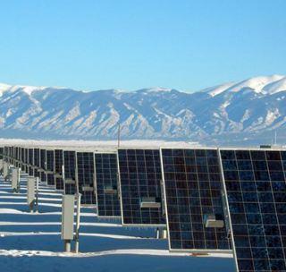 Стойка для солнечных панелей