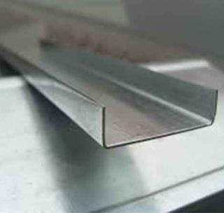 Швелер гнутий 80 х 25 х 4 мм
