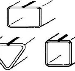 Несварной замкнутый профиль 100 х 100 х 3 х 5 мм