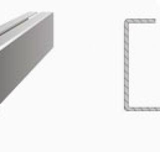 Замкнутый профиль 160 х 80 х 3 х 4 мм