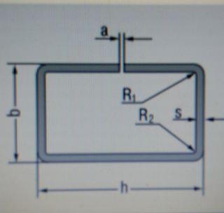 Профиль несварной замкнутый 180 х 120 х 3,0 х 4,0 мм