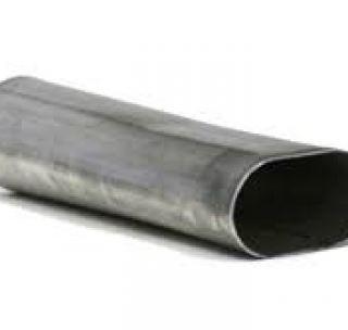 Труба плоскоовальная 30 х 15 х 0,6 мм