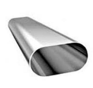 Труба плоскоовального сечения 30 * 15 * 1,5 мм