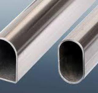 Труба плоскоовальна 40 х 20 х 1,0 мм