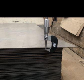 Заготовка стальная карточка