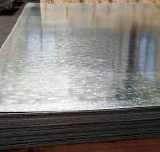 Лист 0.55 х 1000 х 2000 мм оцинкований х/к