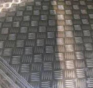 Лист рифлений 6 х 1500 х 6000 мм г/к